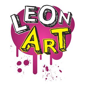 Redisseny del logotip i de la caràtula del programa Leonart, el popular espai infantil sobre art i ciència de RTVE